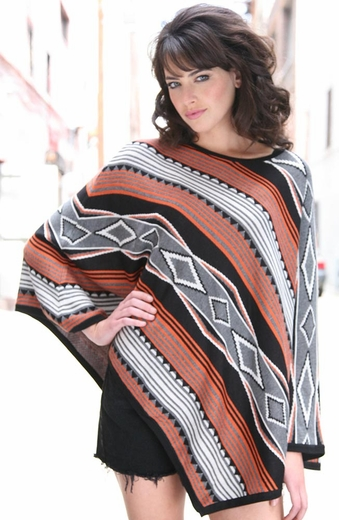 Sisters Aztec Poncho