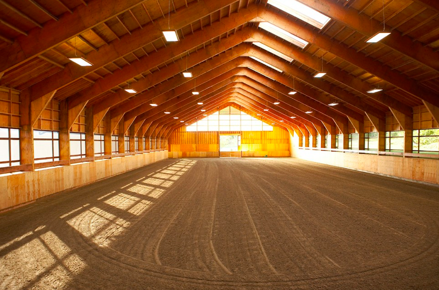 Stable Style: Amazing Indoor Riding Arena