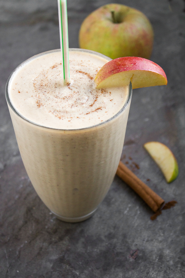 Apple Peanut Butter Shakes