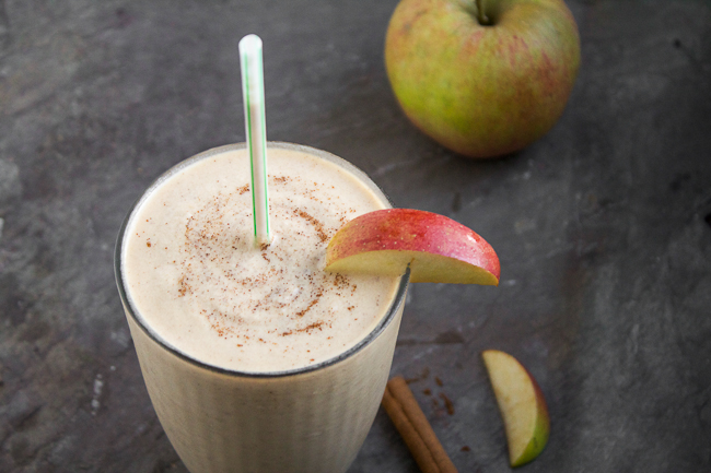 Apple Peanut Butter Shake