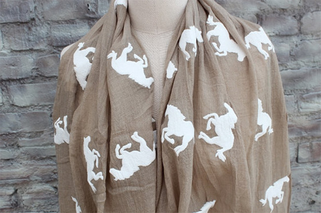 I Have a Crush: Printed Scarves