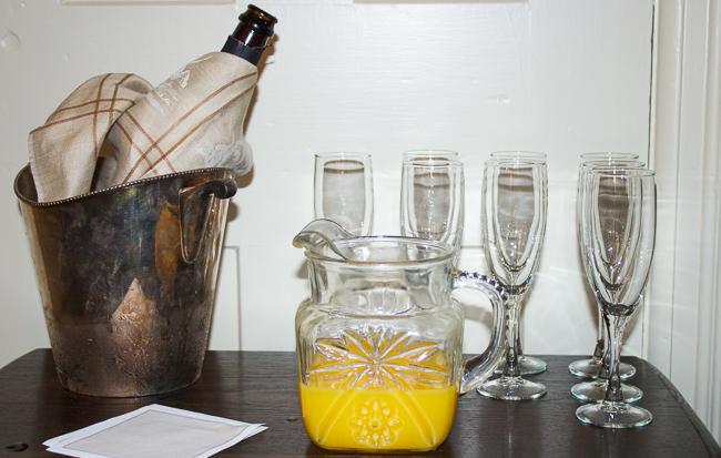 Champagne & Orange Juice