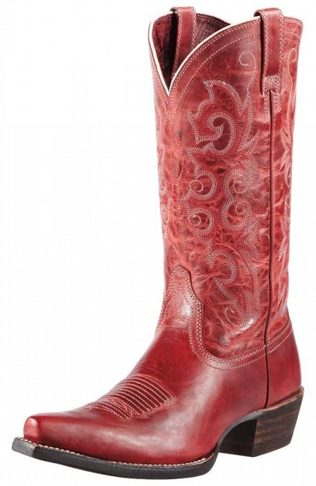 Firey Red Cowboy boot