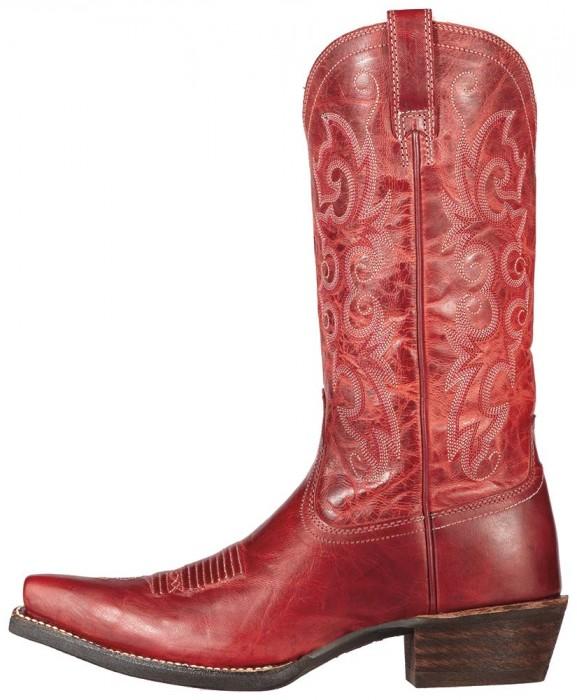 Firey Red cowboy boots
