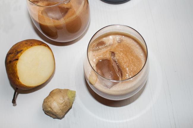 Pear Ginger & Gin Cocktail