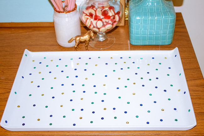 Colorful-sequin-tray