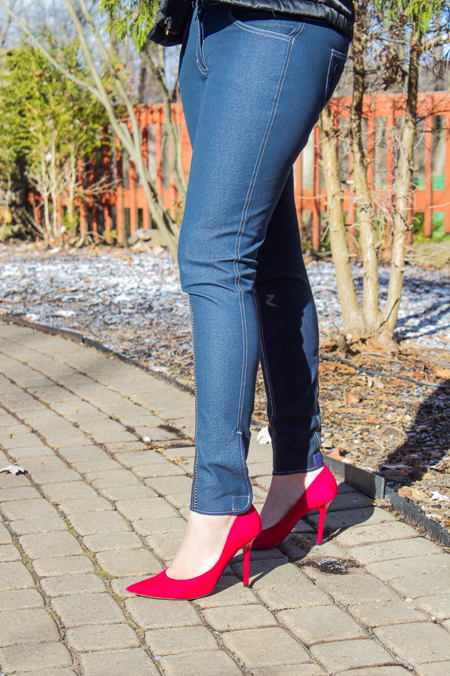Denim-riding-breeches-with-red-heels