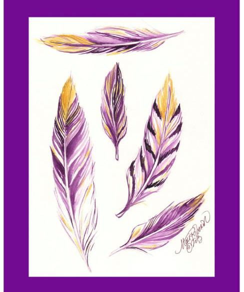 Feathers-Art-Print