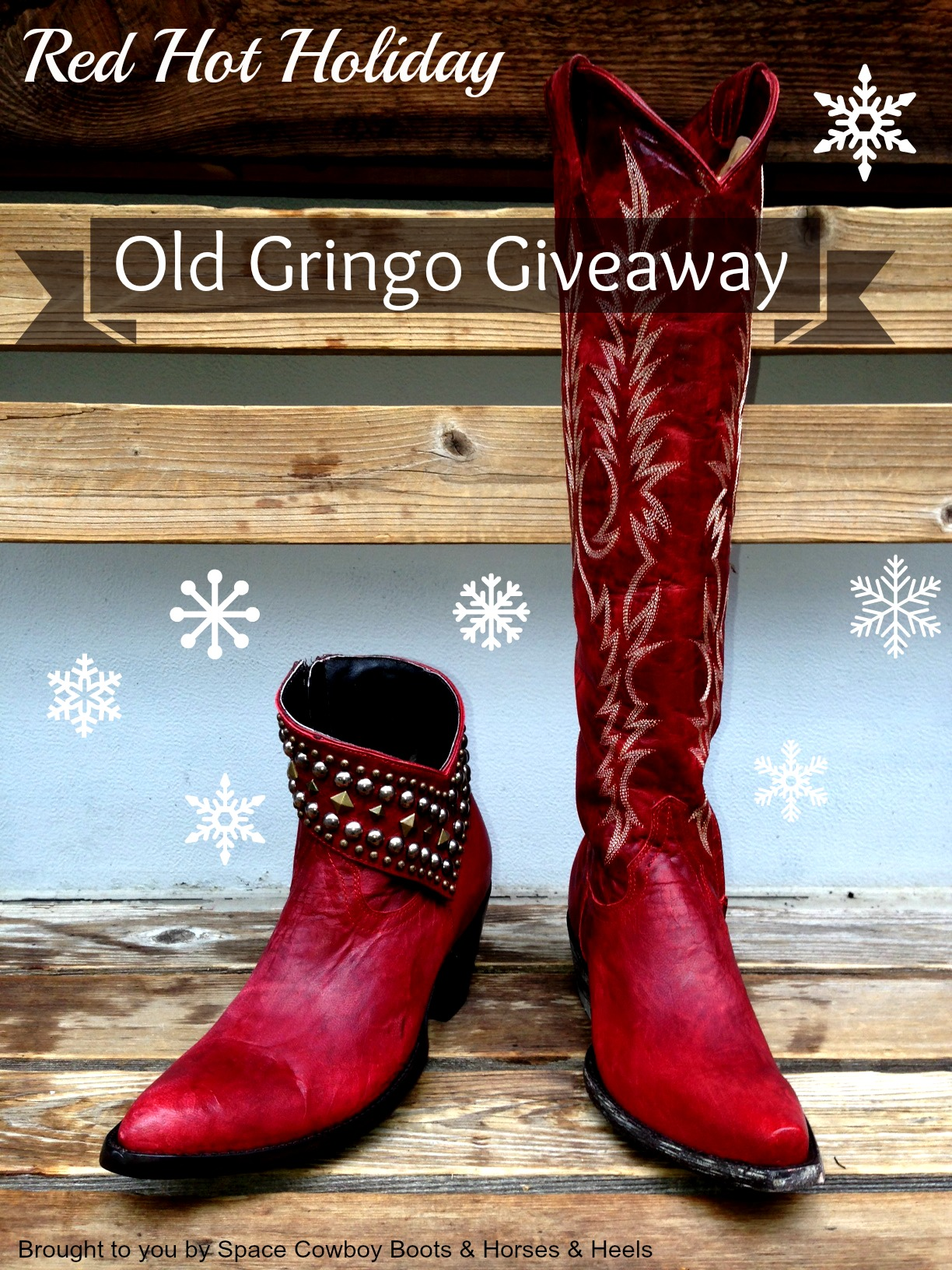 Red Hot Holiday Old Gringo Giveaway