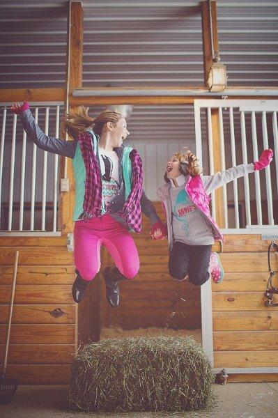 Annie's Equestrienne Apparel Jumping for Joy Shirts