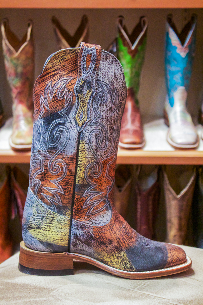 Multi Color Boulet Cowboy Boot