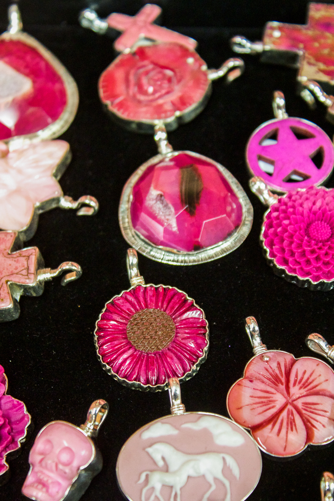 Coreen Cordova Pink Pendants