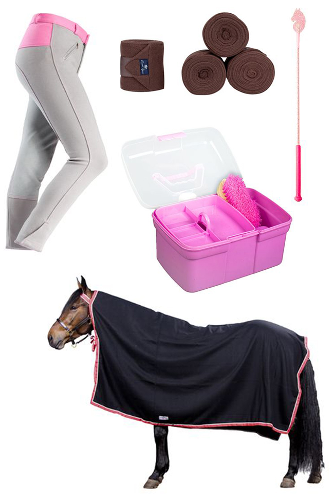 Horze Items for the horse and young rider
