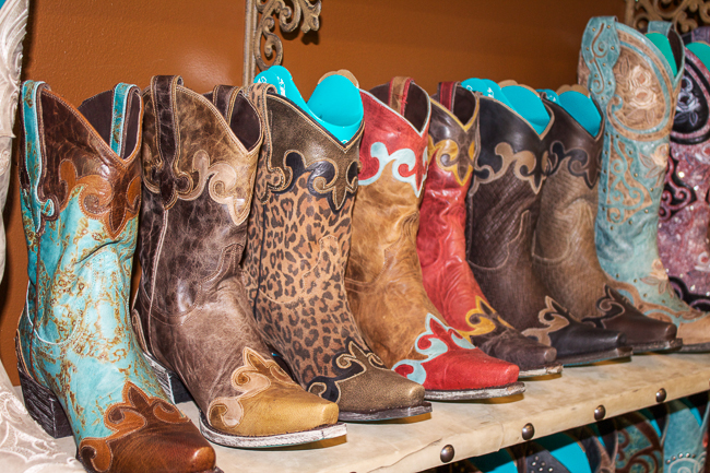 Lane Boots, I'll take one of each