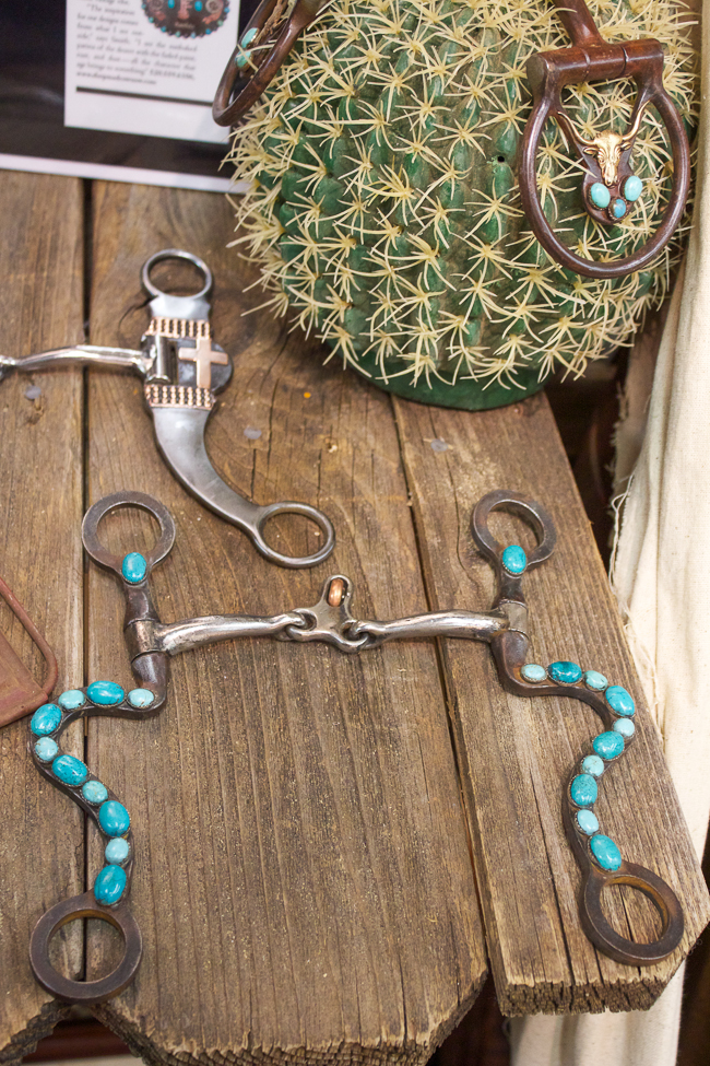 Mad Cow Company Turquoise Bits