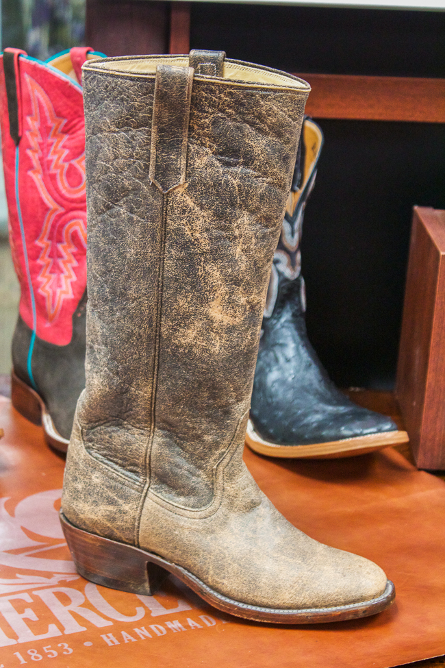 Rios of Mercedes Brown Distressed Boots