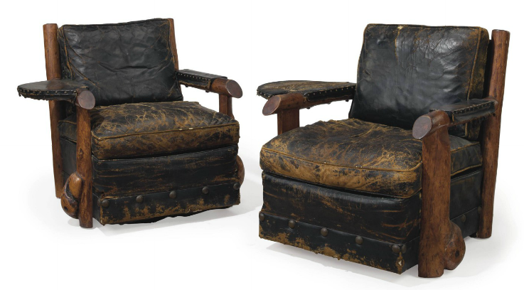 Thomas C. Molesworth Pair of Chairs circa 1945