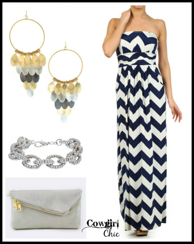Maxi Dress Style with Cowgirl Chic