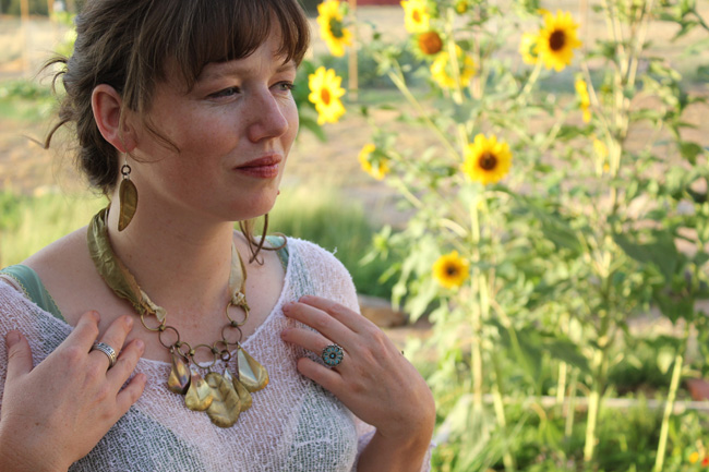 Necklace by bright star and buffalo