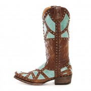 Old Gringo Brass Paola Cowgirl Boots