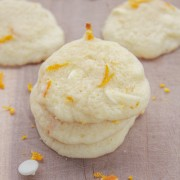 Orange White Chocolate Chip Sugar Cookies