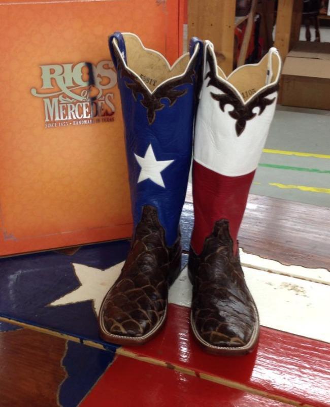 Trending: Texas Flag Cowboy Boots | Horses & Heels