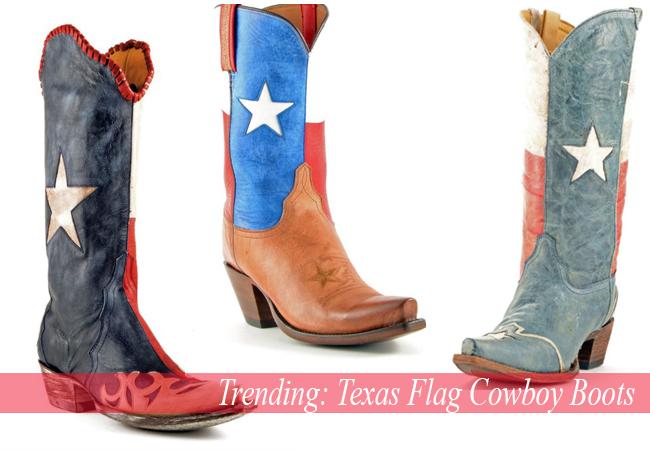 Trending: Texas Flag Cowboy Boots
