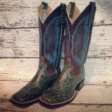 Anderson Bean Jungle Fever Cowboy Boots