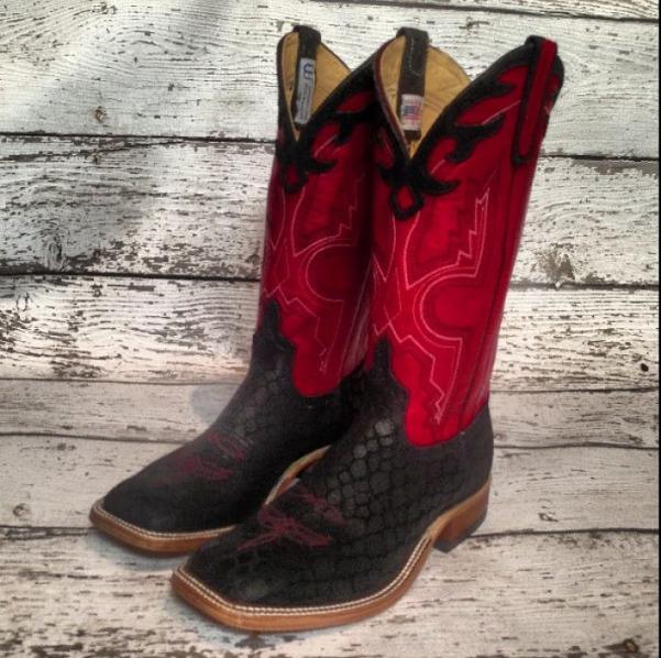 Anderson Bean Viper Cowboy Boots