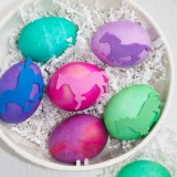 DIY Equine Easter Eggs, these are pretty
