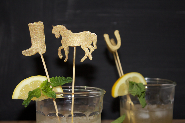 DIY: Kentucky Derby Cocktail Stirrers