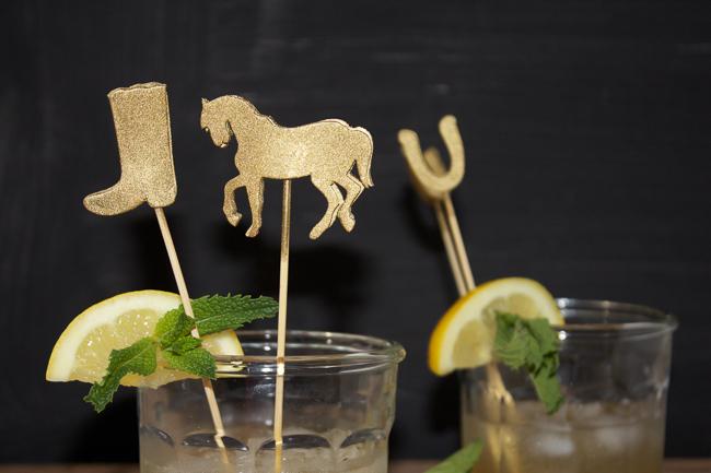 DIY: Kentucky Derby Cocktail Stirrers