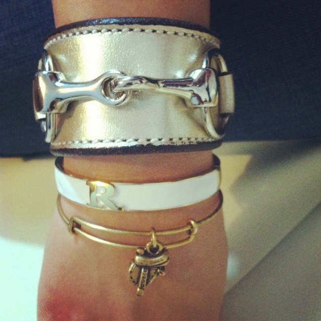 Equestrian Arm Party, photo via Horsesandheels_ on Instagram