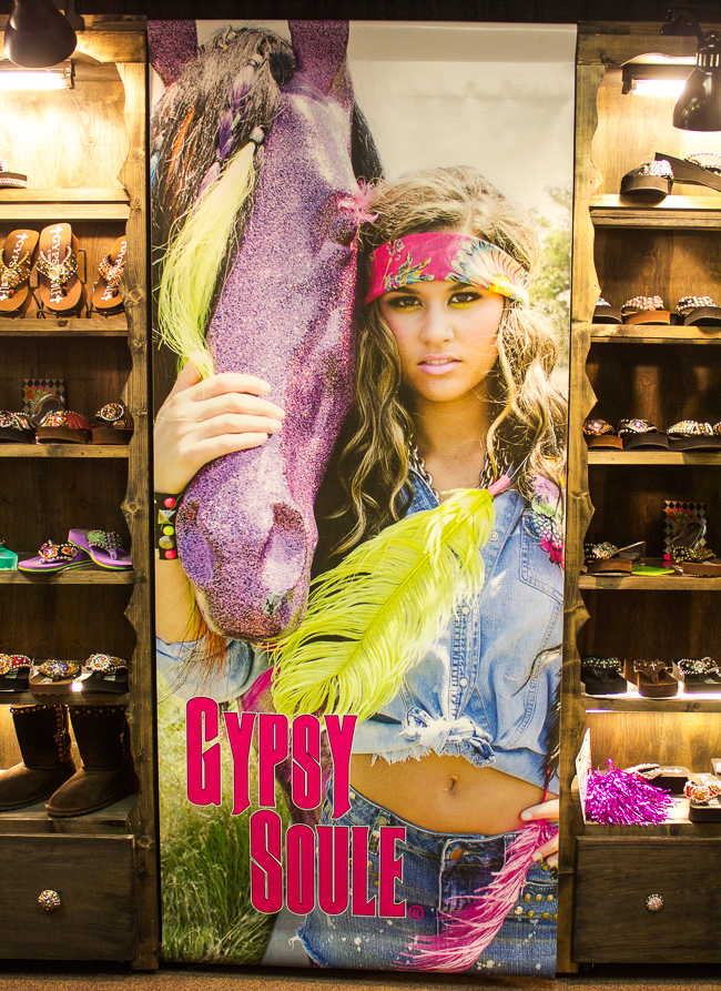 Gypsy Soule at the market