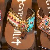 Gypsy Soule flip flop in brown