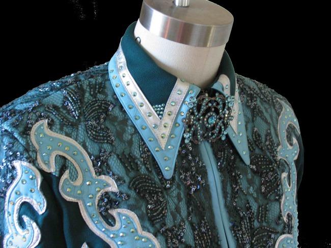 Lasting Impressions Blue Show Jacket