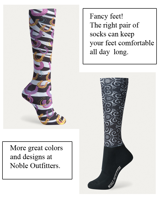 Riding socks from Noble Outfitters