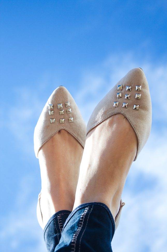 Simple-DIY-Studded-Flats