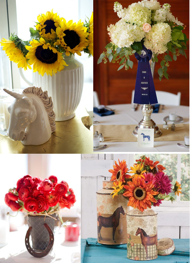 Easy and Entertaining Equestrian Centerpieces