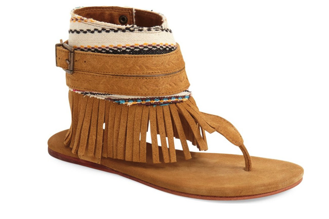 I Have a Crush: Fringe Sandals