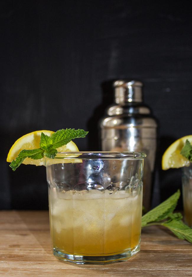 Mint Juleps with a Lemon Twist