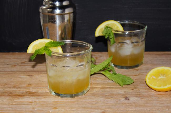 Mint Juleps with a Lemon Twist for the Kenutcky Derby