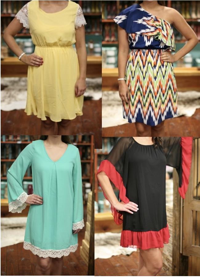 4 Fabulous Summer Dresses