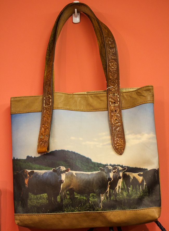 Totem Salvaged Cow Tote
