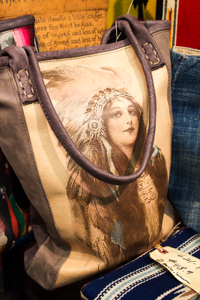 Totem Salvaged Indian Girl Tote