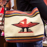 Totem Salvaged Navajo Style Bag