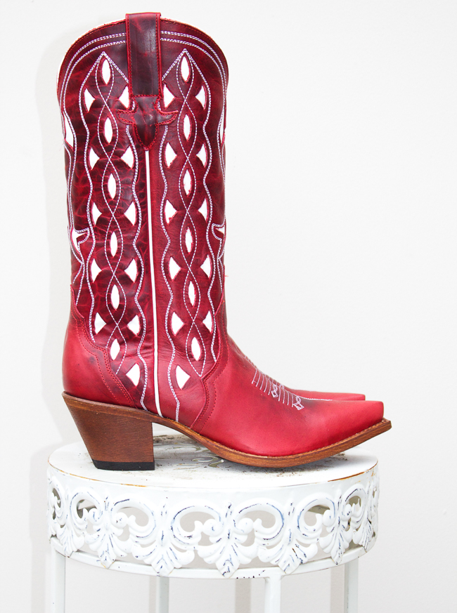 Red Hot Macie Bean Boots