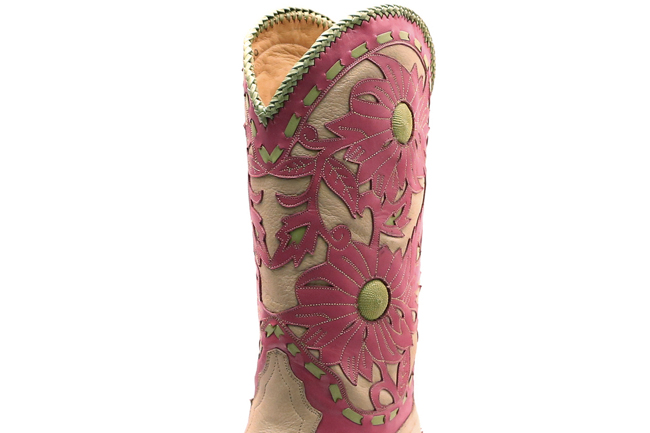 Liberty Pink Cowboy Boots