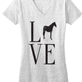 Love tee by One Horse Threads
