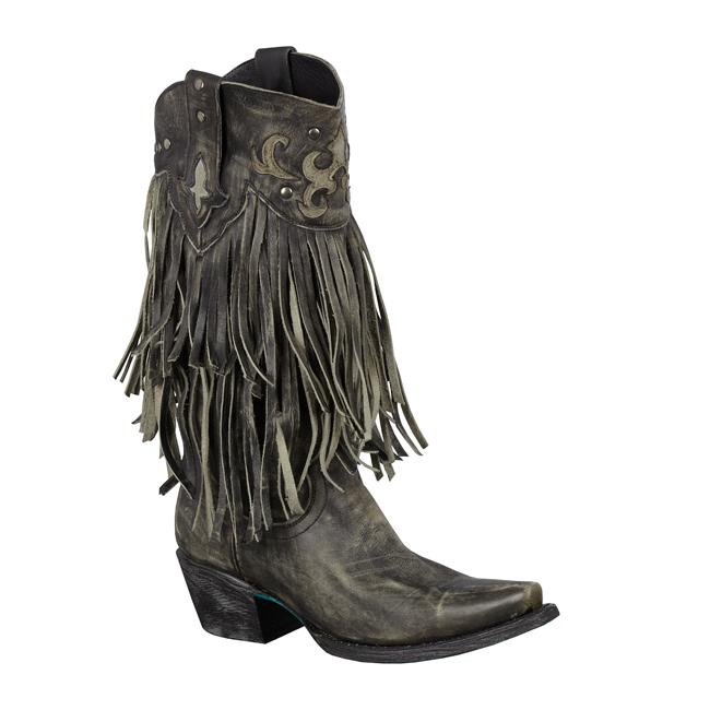 Santa Rosa in Black by Lane Boots